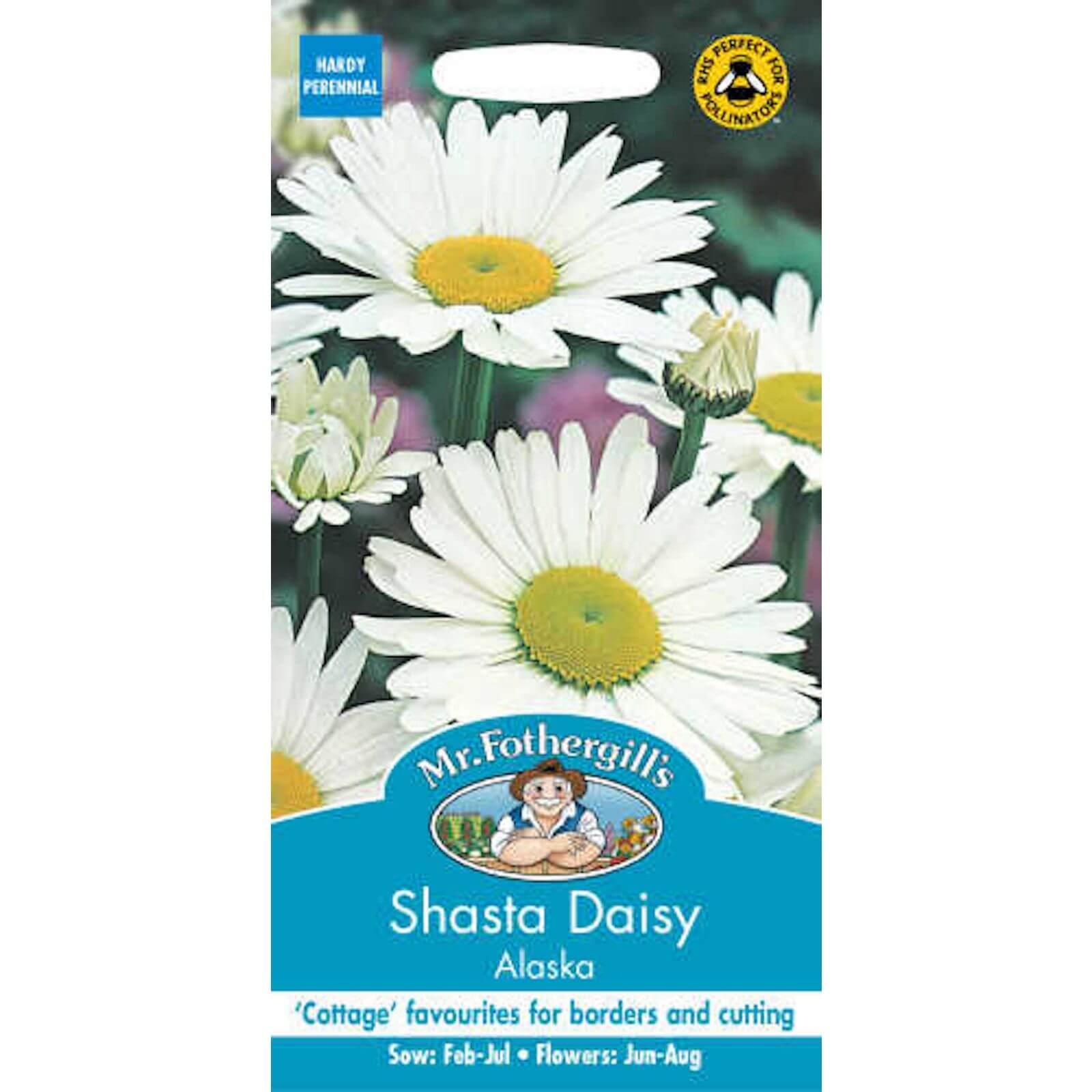 Mr. Fothergill's Shasta Daisy Alaska (Leucanthemum X Superbum) Seeds