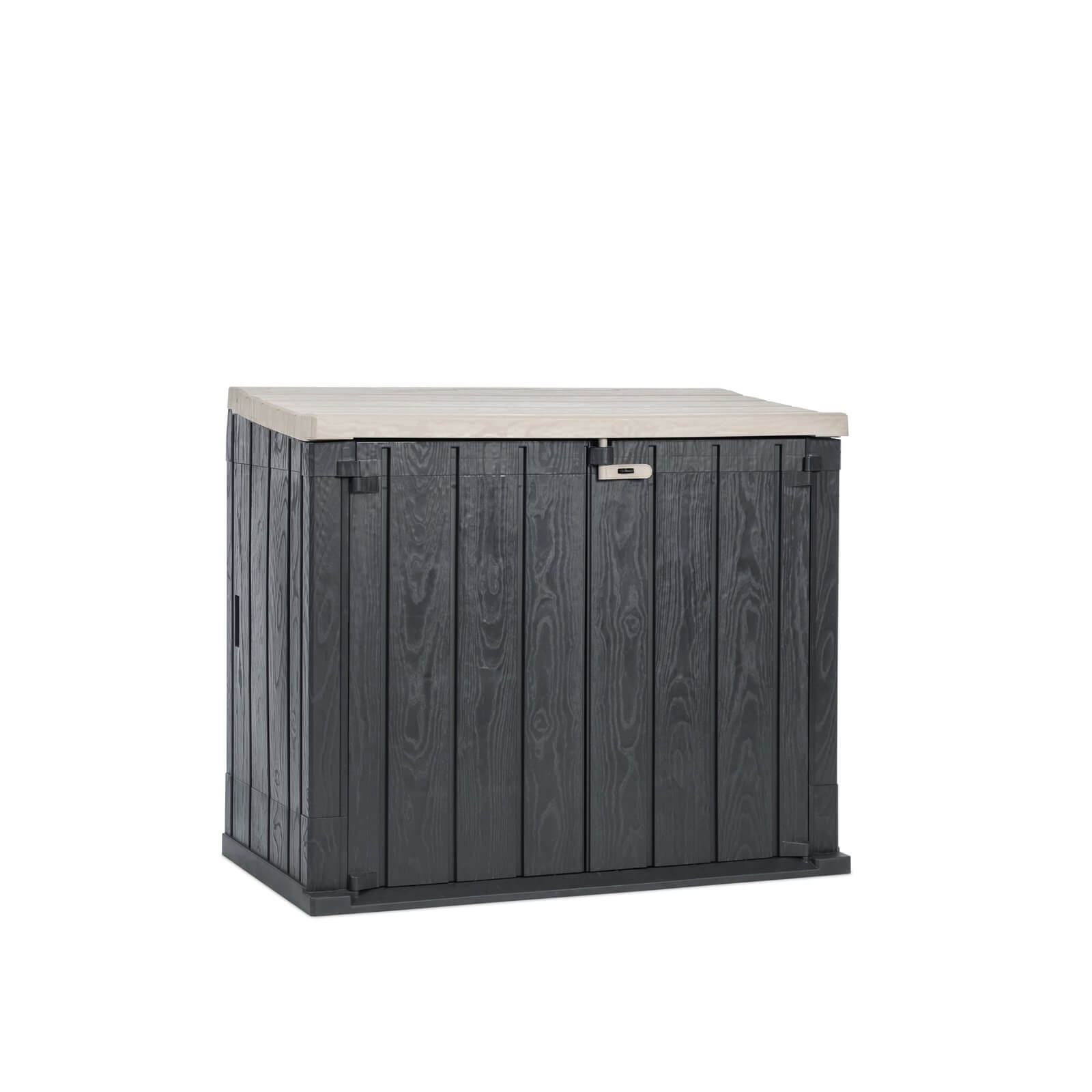 Toomax Stora Way XL 1270L Garden Storage Box in Warm Grey