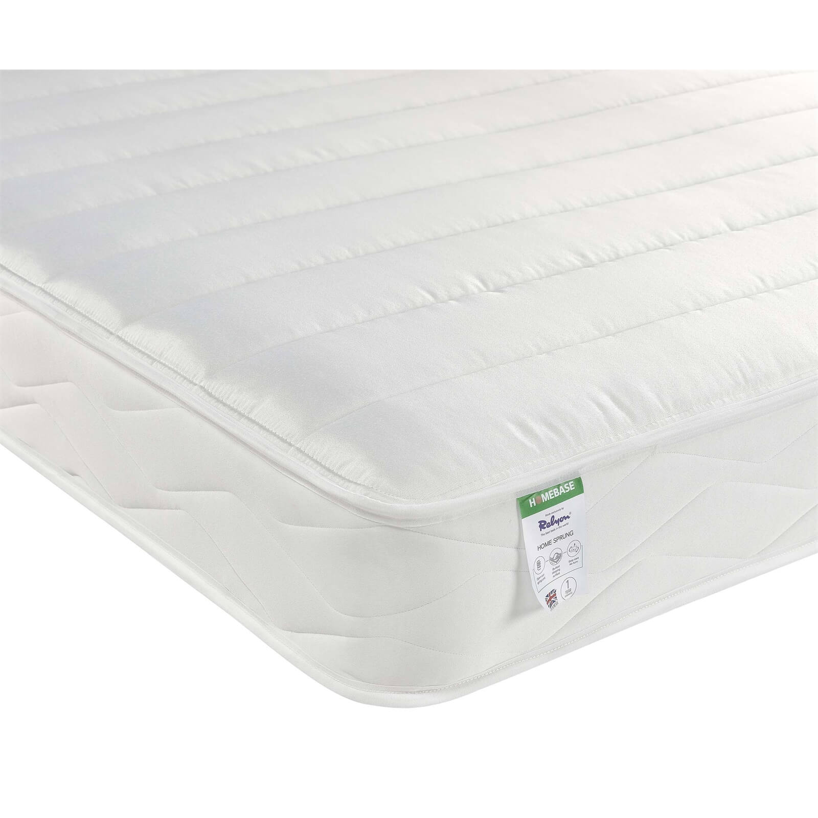 Relyon Open Coil Rolled Mattress - King
