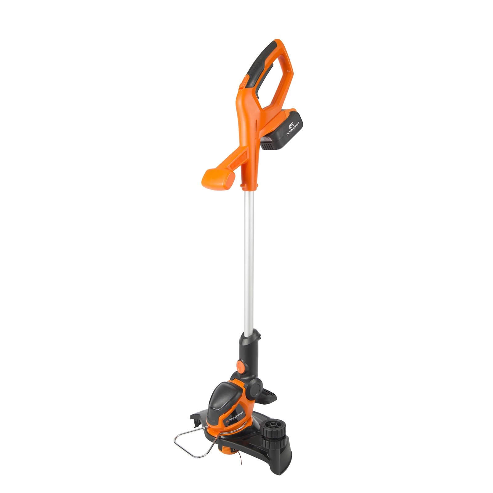 Yard Force 40V 30cm Cordless Grass Trimmer with 2.5Ah Lithium-Ion Battery and Charger