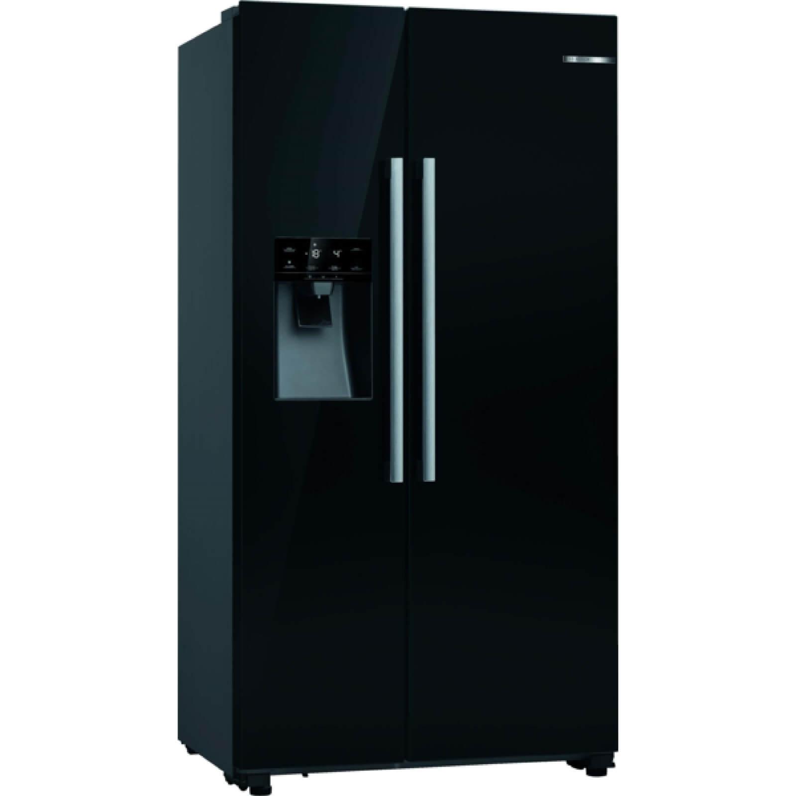 Bosch KAD93VBFPG Black American Side By Side Fridge Freezer