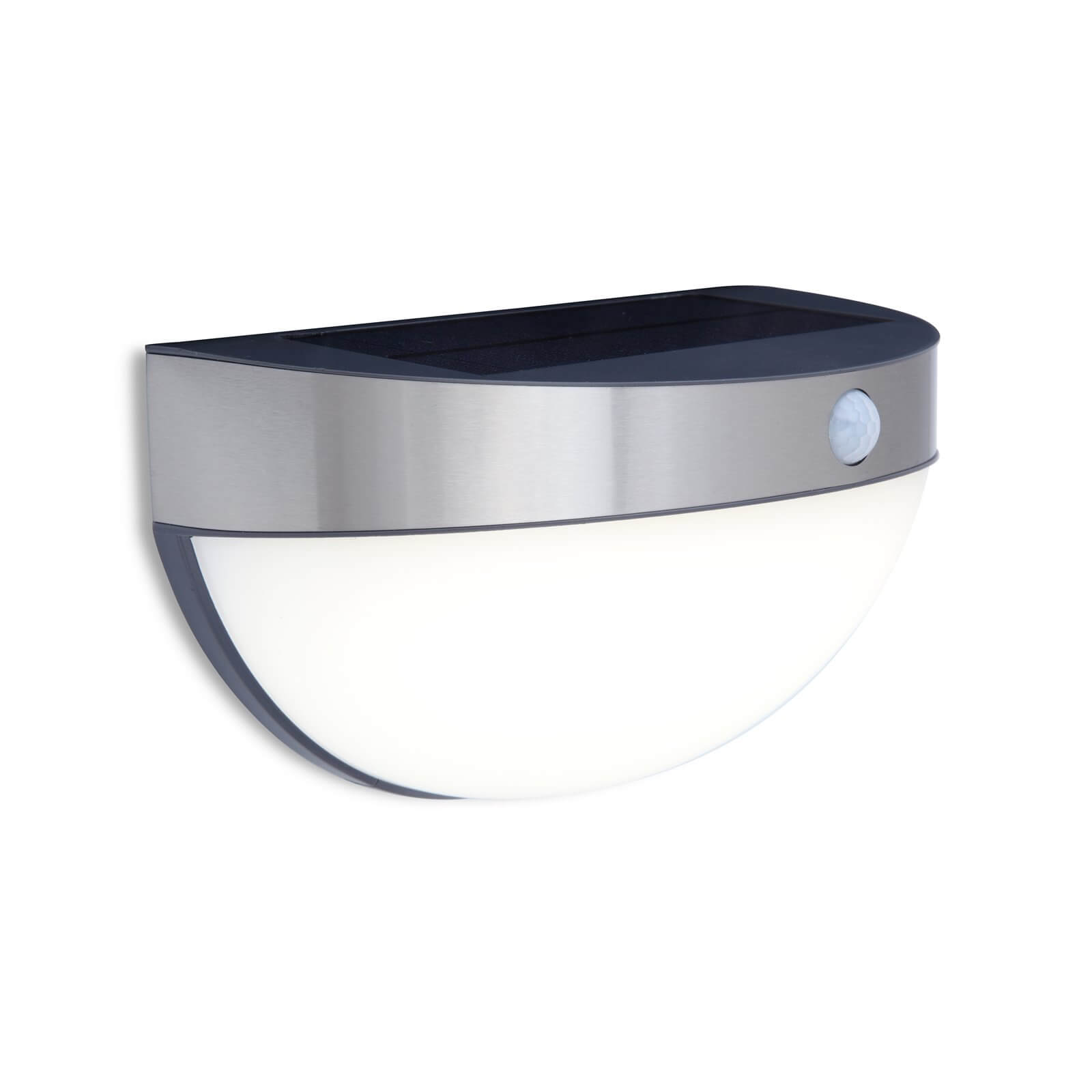 Lutec Bubble Solar LED Outdoor Wall Light With PIR Motion Sensor