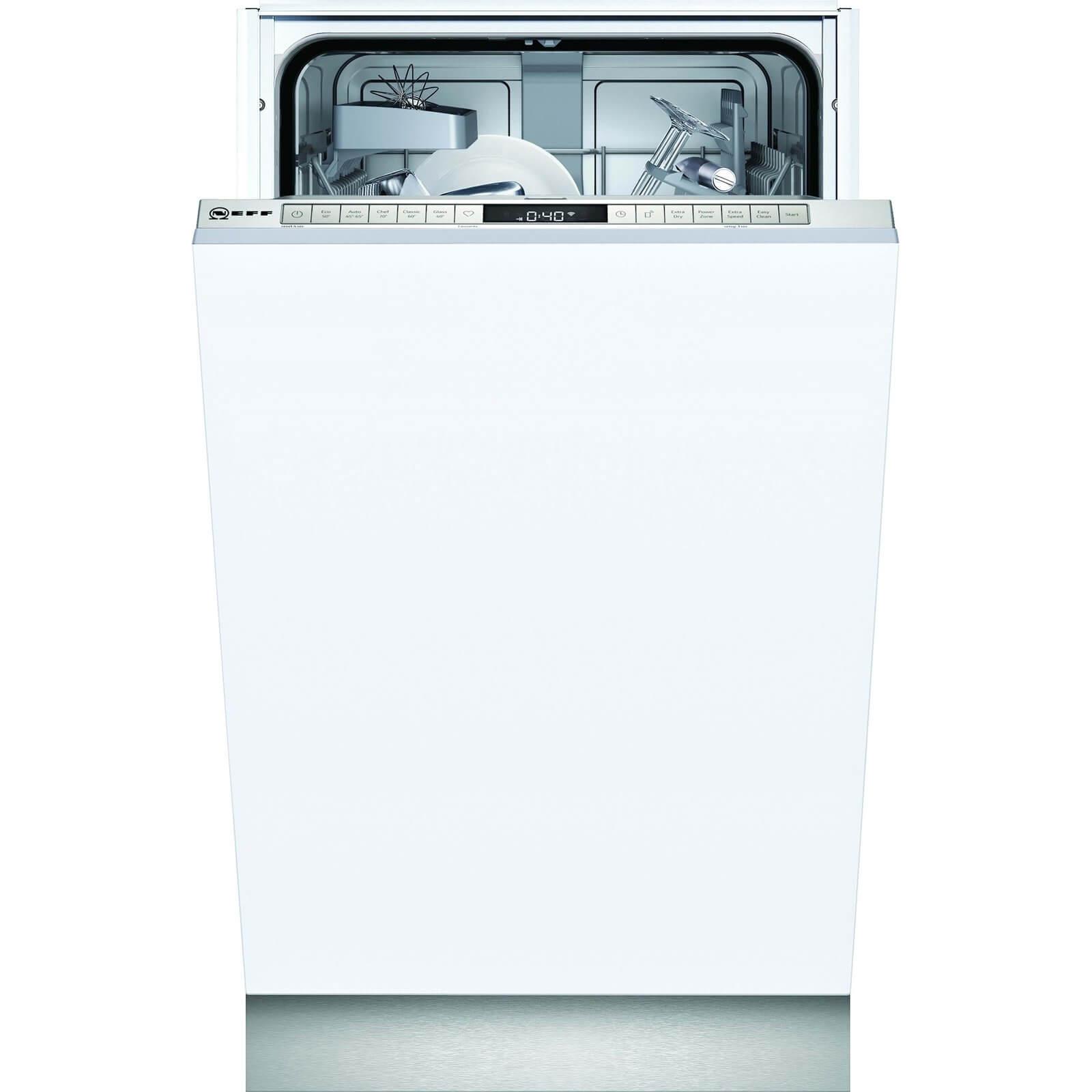 NEFF S875HKX20G 45cm Slimline Dishwasher