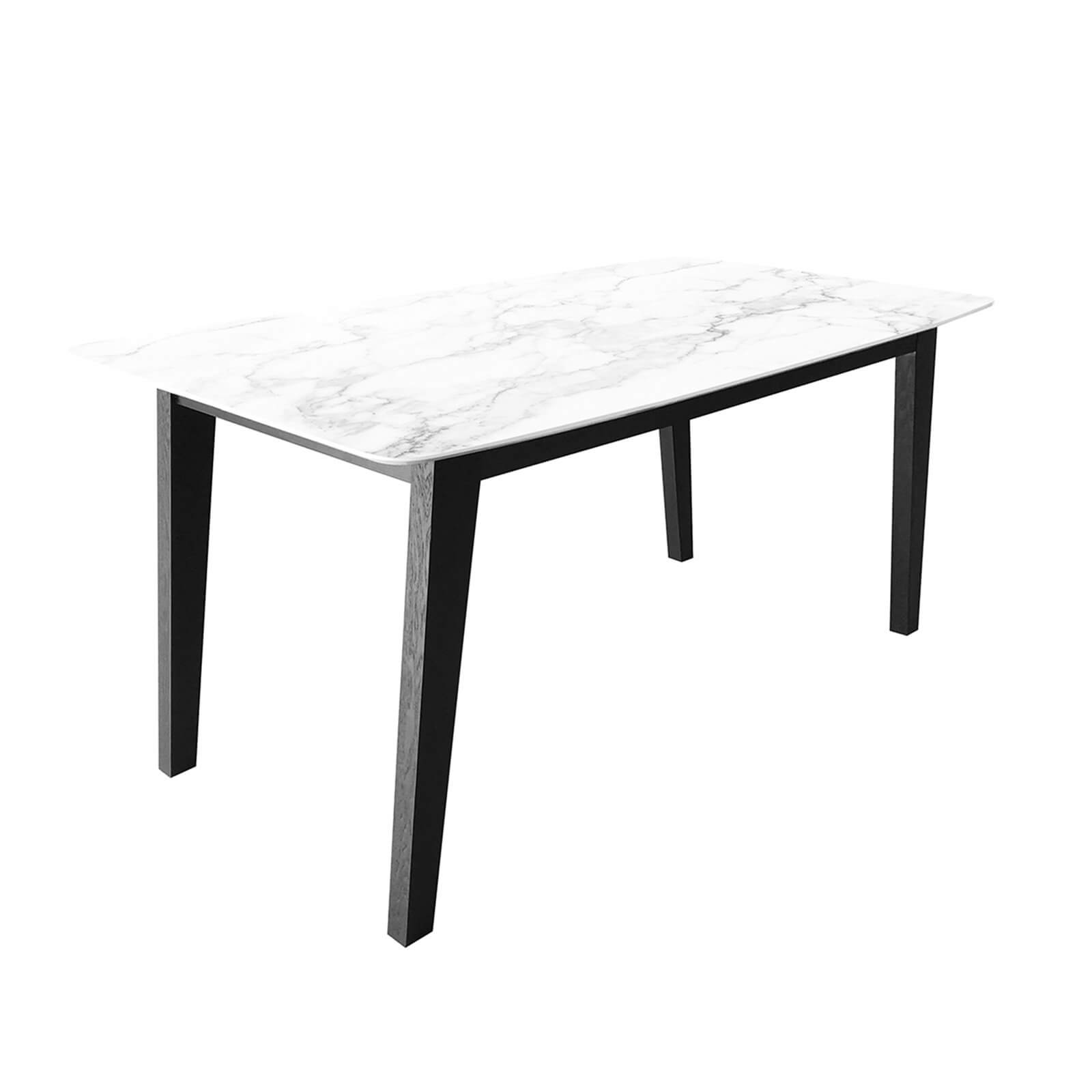 Aubrey Faux Marble Dining Table