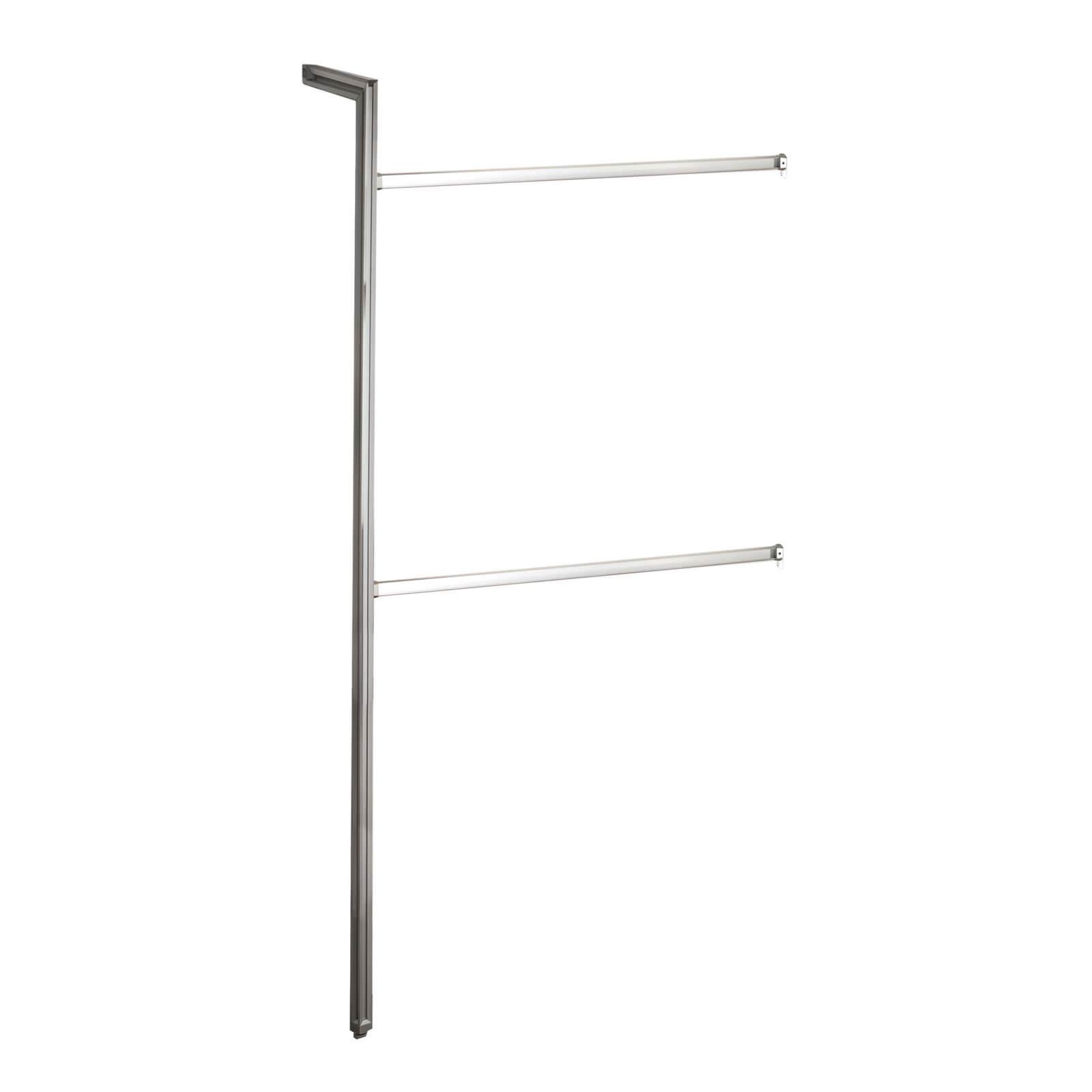 Relax Wardrobe Storage Bedroom Bundle 1 with Extendable Hangers