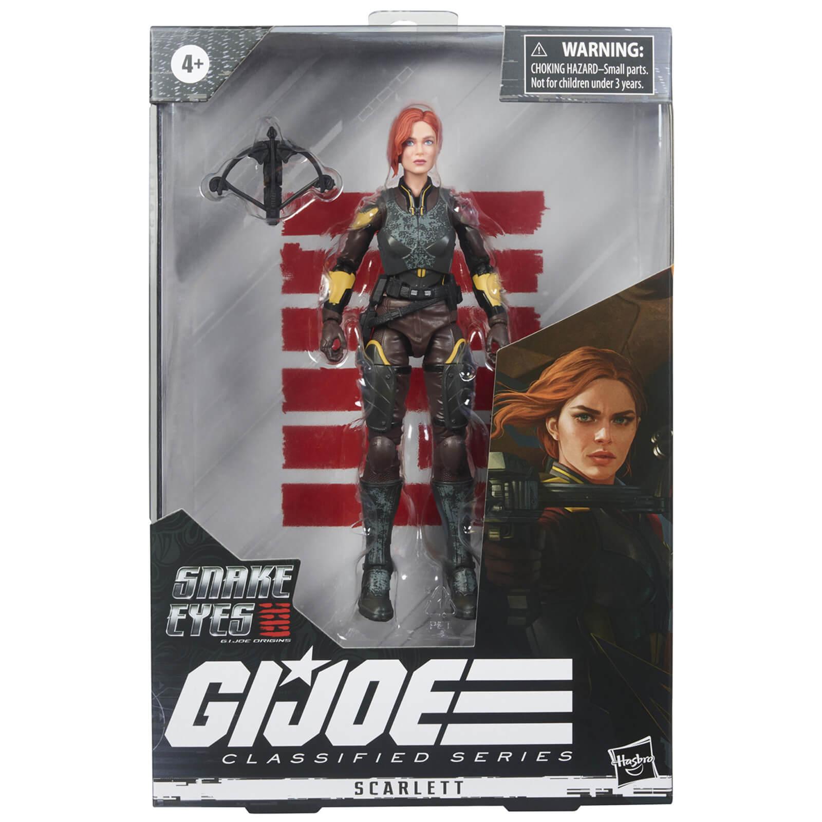 Hasbro G.I. Joe Classified Series Snake Eyes: G.I. Joe Origins Scarlett Action Figure