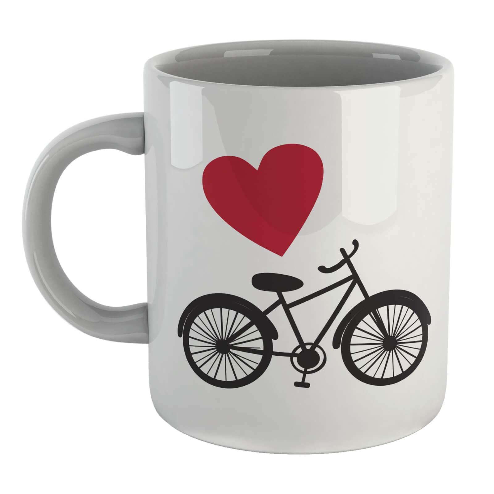 Love Bicycle Left Mug