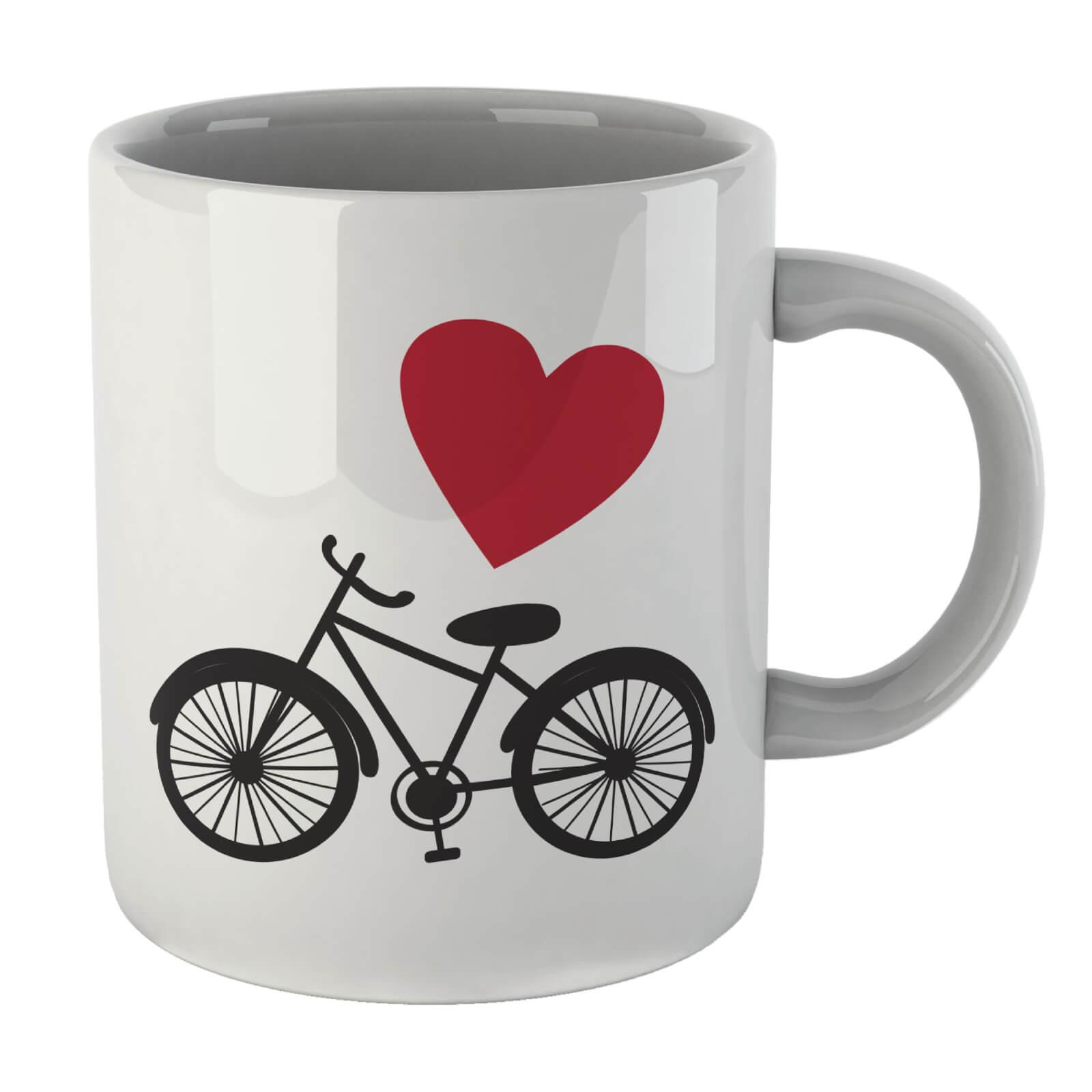 Love Bicycle Right Mug
