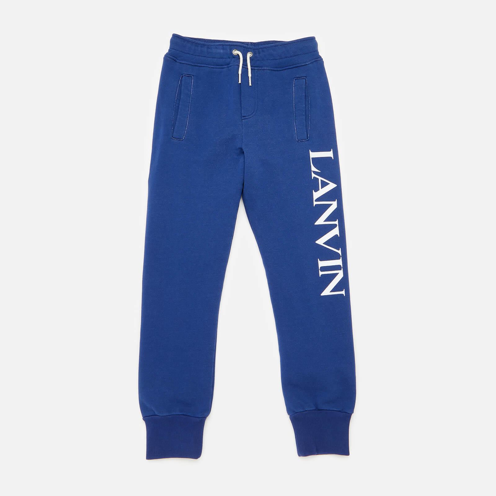 Lanvin Boys' Jogging Bottoms - Denim Blue - 10 Years