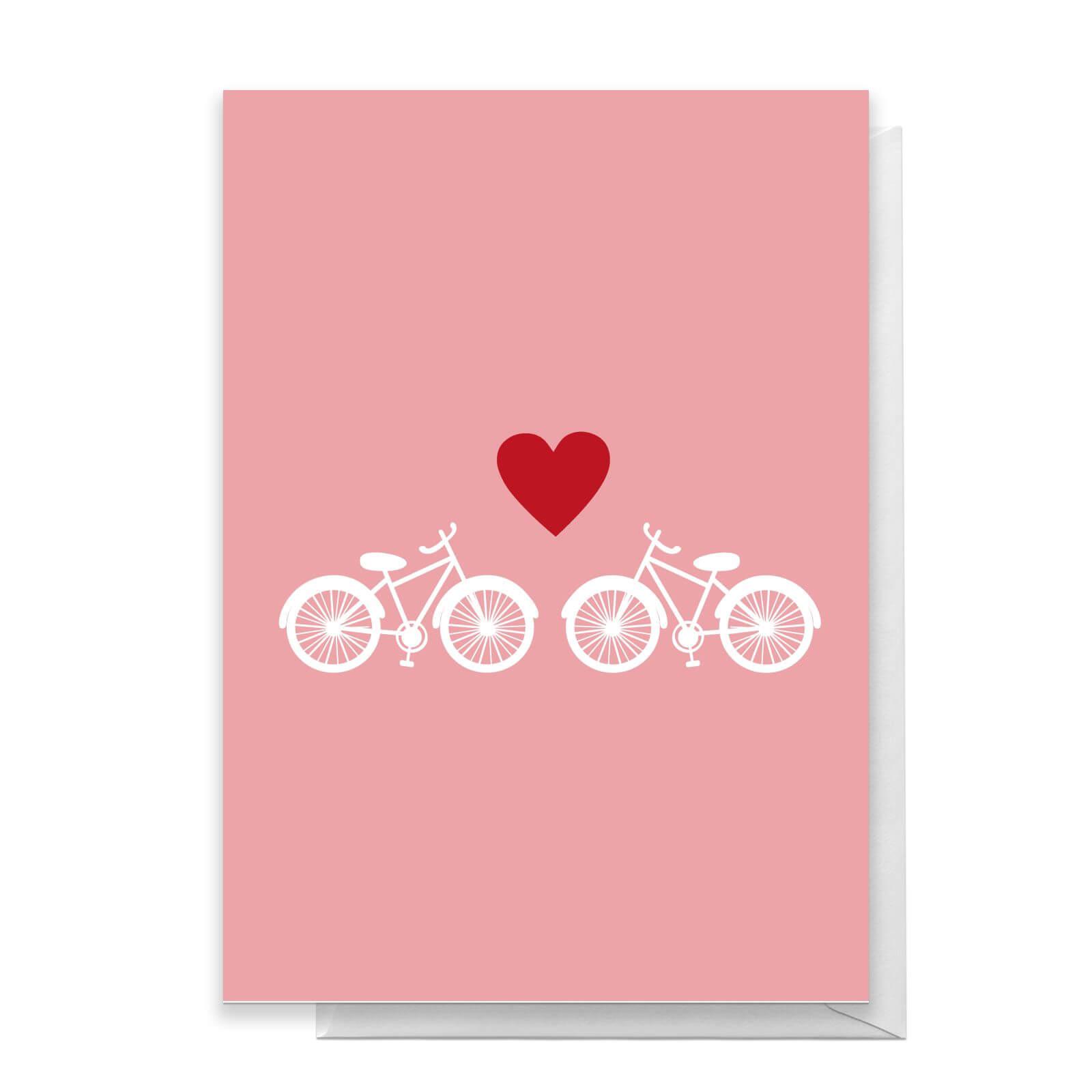 Bicycle Love Greetings Card   Standard Card