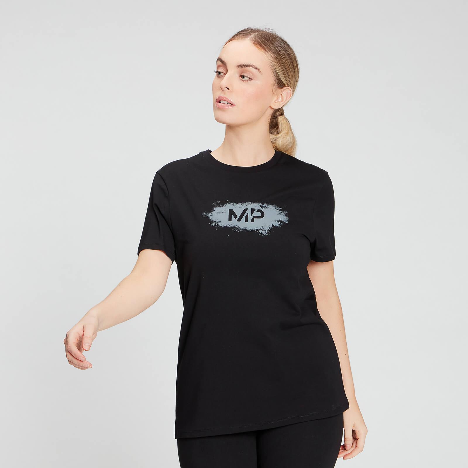 MP Women's Chalk Graphic T-Shirt - Black - XXS, Myprotein International  - купить со скидкой