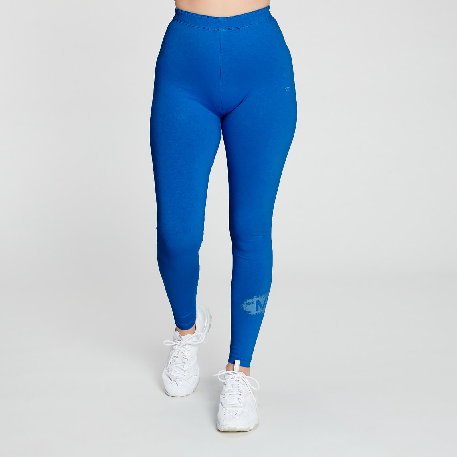 Купить MP Women's Chalk Graphic Leggings - Aqua - XS, Myprotein International