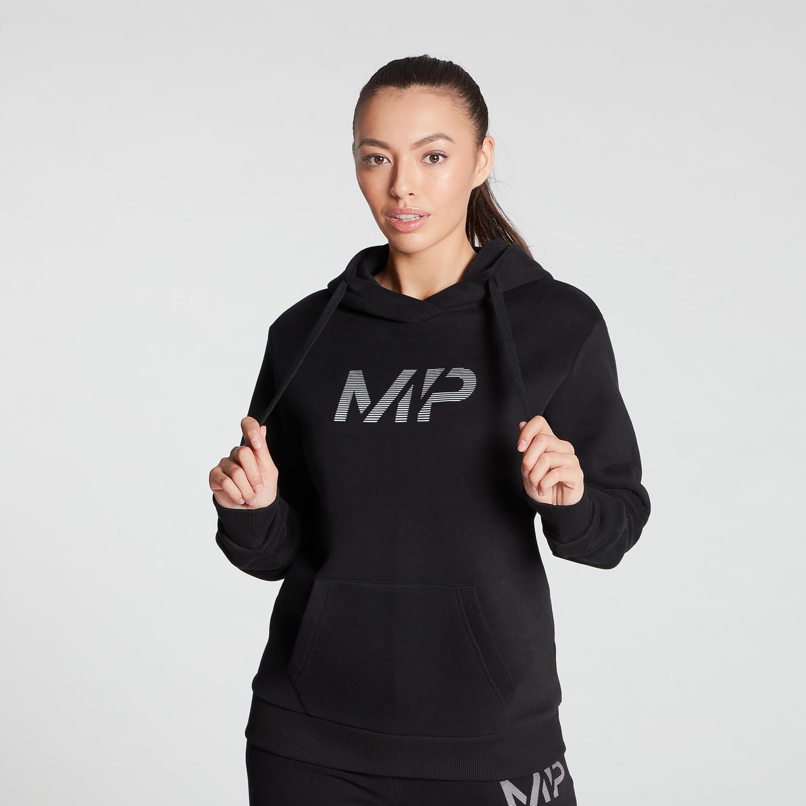 Купить MP Women's Gradient Line Graphic Hoodie - Black - XXL, Myprotein International