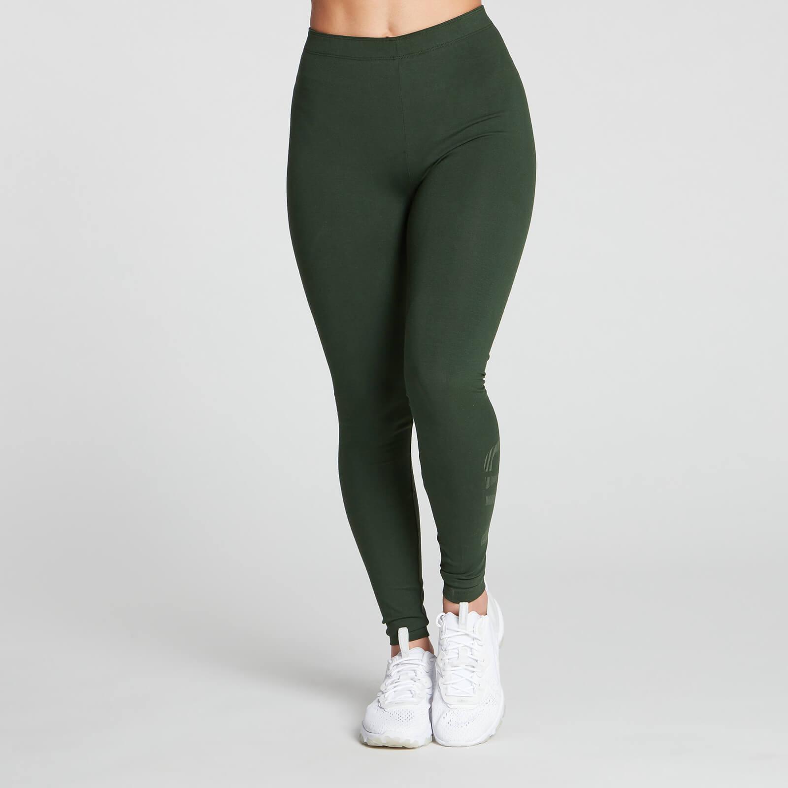Купить MP Women's Gradient Line Graphic Legging - Dark Green - XXL, Myprotein International