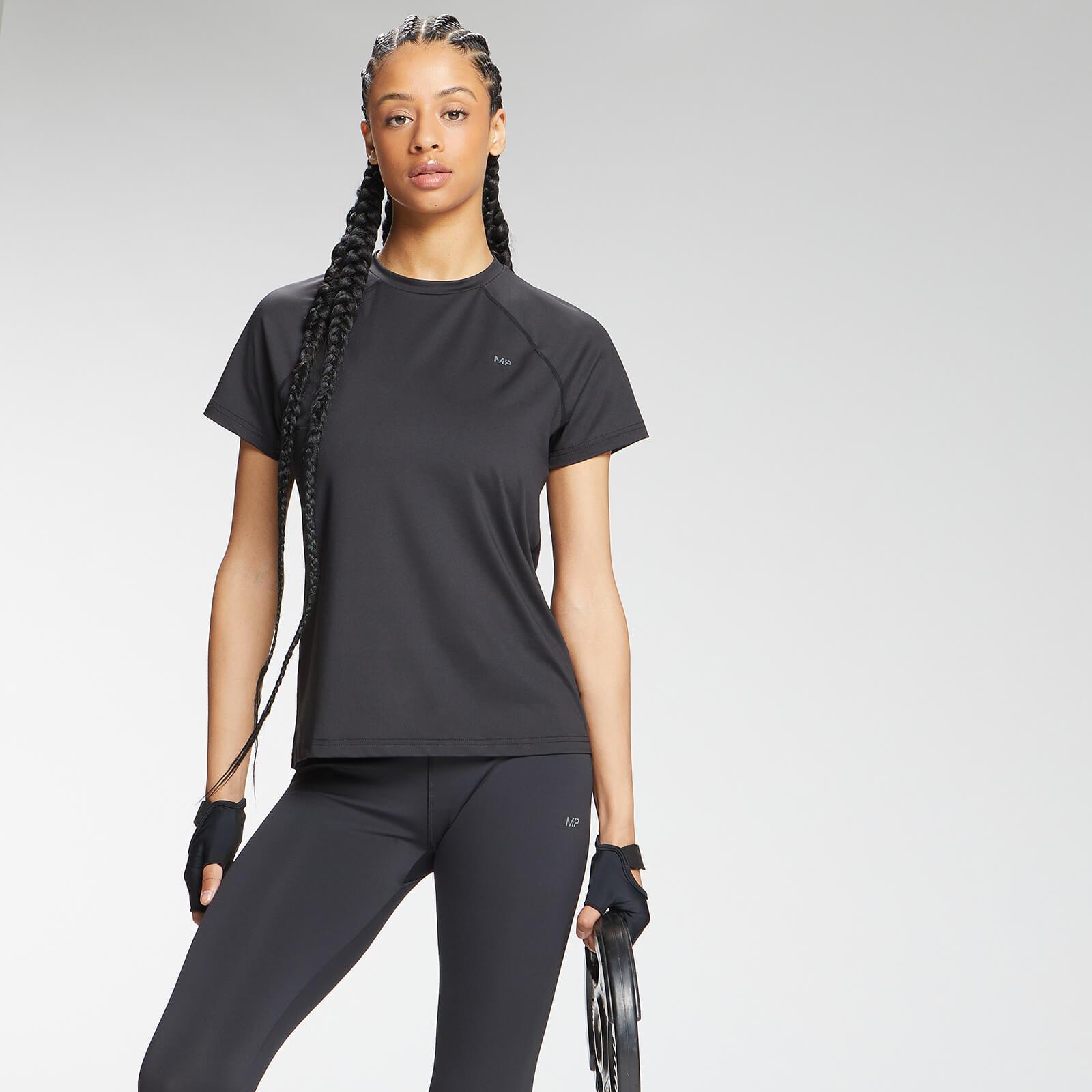 Купить MP Women's Repeat MP Training T-Shirt - Black - XXS, Myprotein International