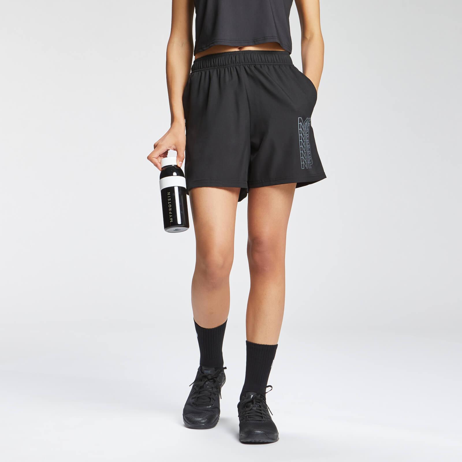 MP Women's Repeat MP Training Shorts - Black - S, Myprotein International  - купить со скидкой