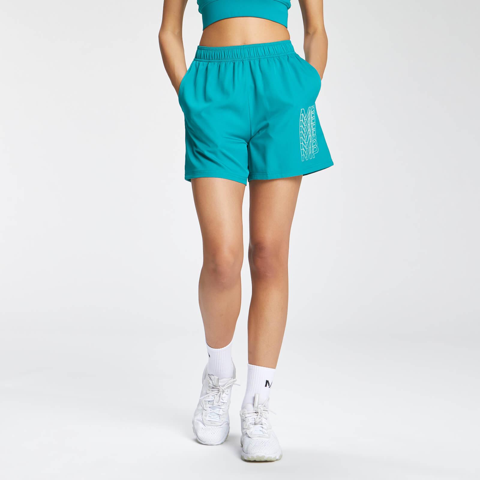 Купить MP Women's Repeat MP Training Shorts - Teal - XXS, Myprotein International