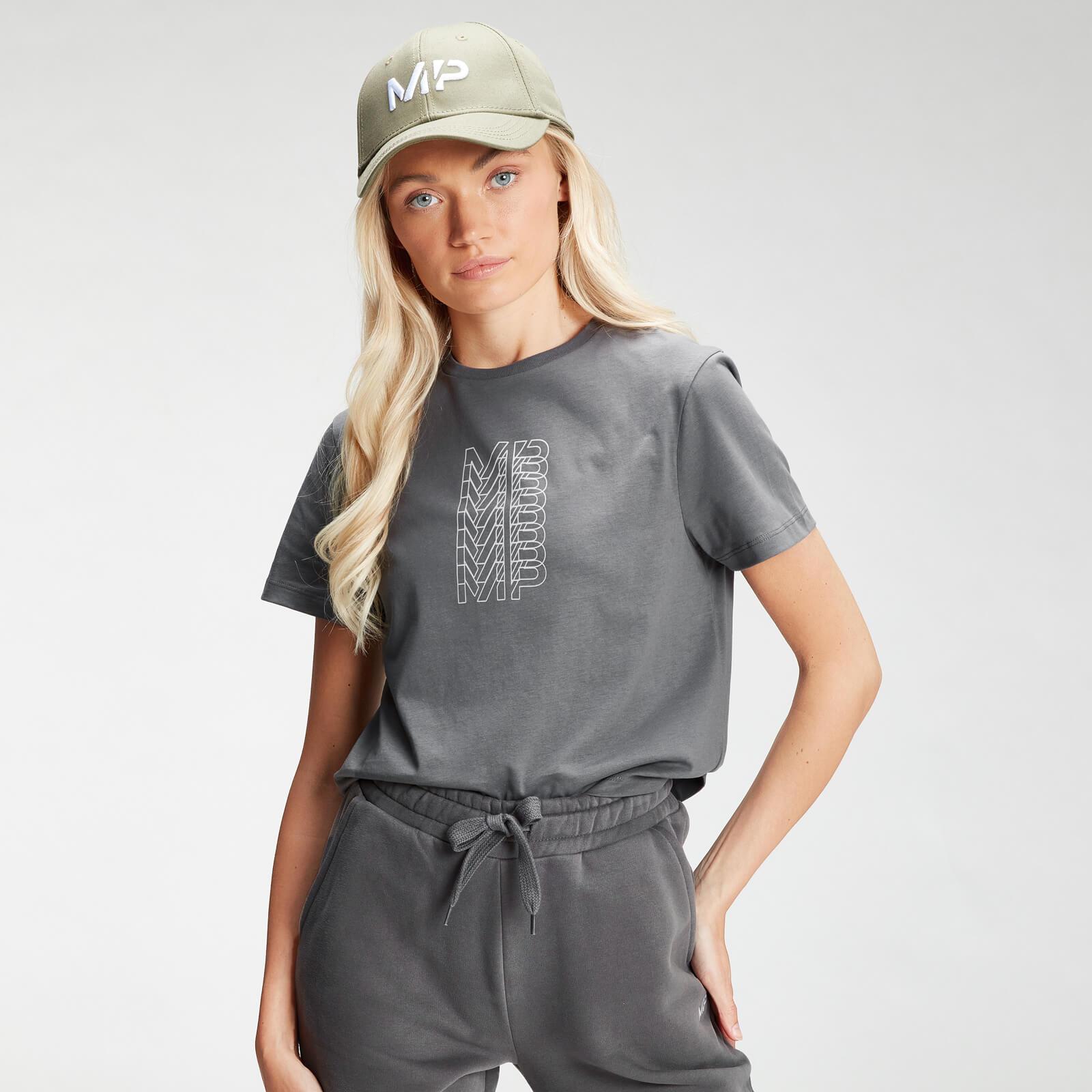 Купить MP Women's Repeat MP Crop T-Shirt - Carbon - XXL, Myprotein International
