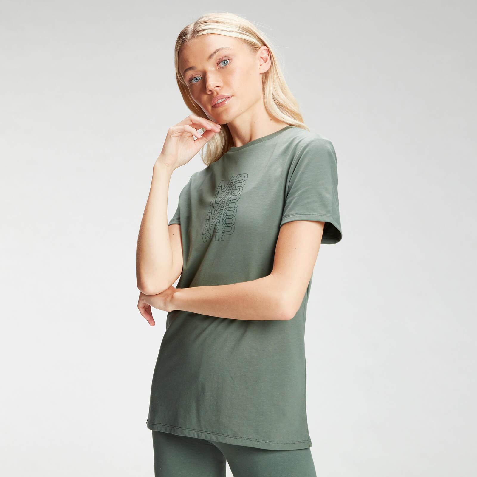 Купить MP Women's Repeat MP T-Shirt - Cactus - XXL, Myprotein International