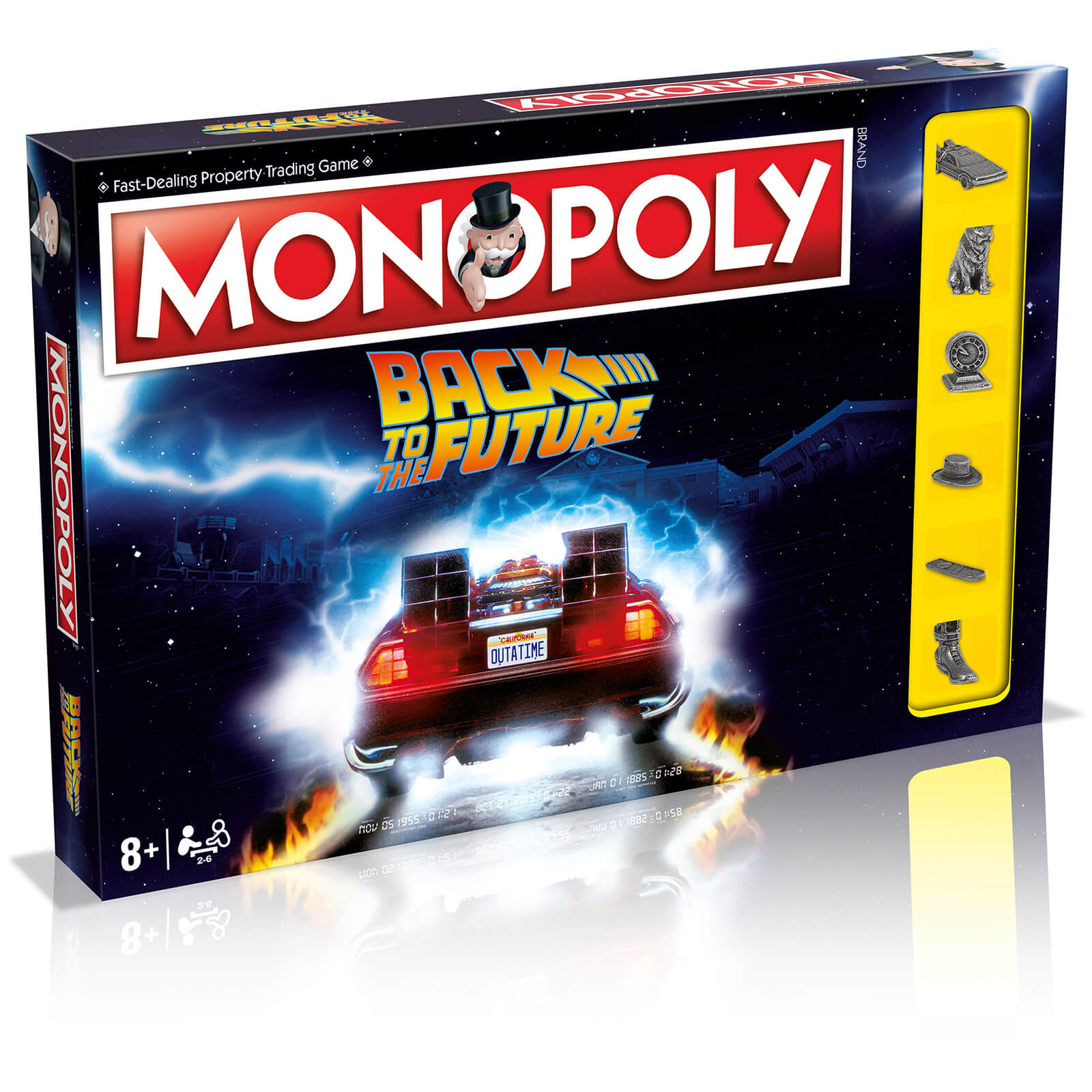 Image of Monopoly Board Games - Back to the Future Edition - Zavvi Online Exclusive (Limited Edition)