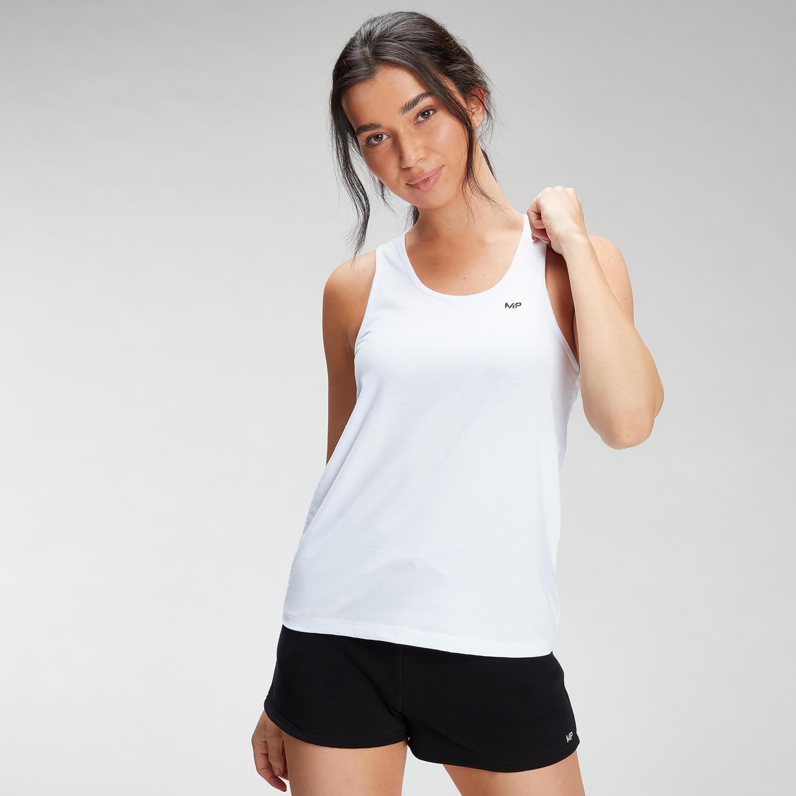 Купить MP Women's Essential Jersey Vest - White - XL, Myprotein International
