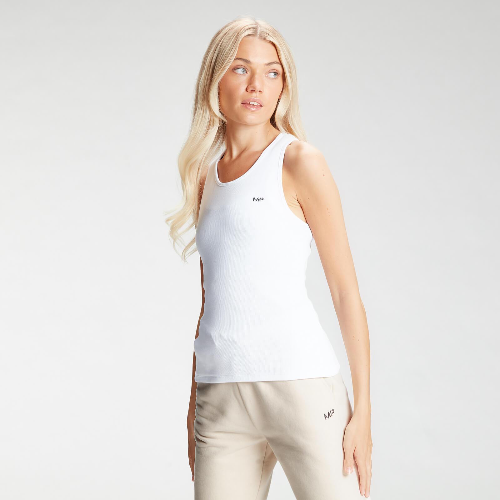Купить MP Women's Essential Rib Vest - White - XXL, Myprotein International