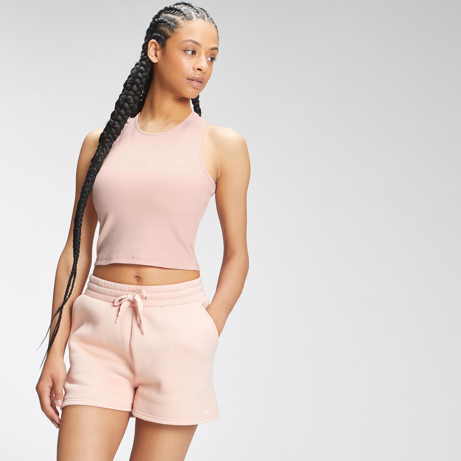 Купить MP Women's Essential Cropped Rib Vest - Light Pink - XXL, Myprotein International