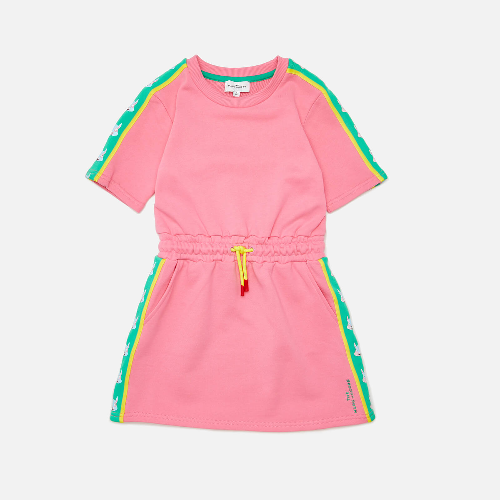 Little Marc Jacobs Girls' Sporty Dress - Pink - 4 Years