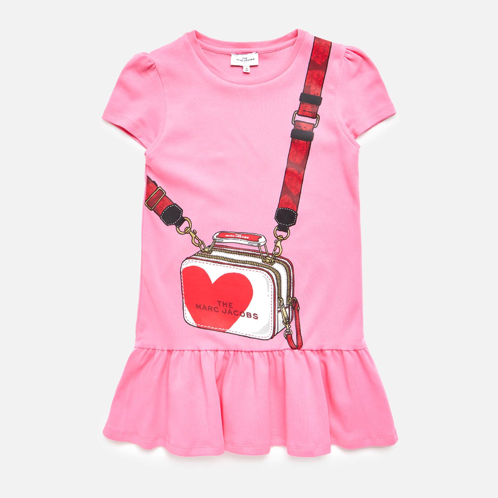 Little Marc Jacobs Girls' Snapshot Dress - Pink - 4 Years