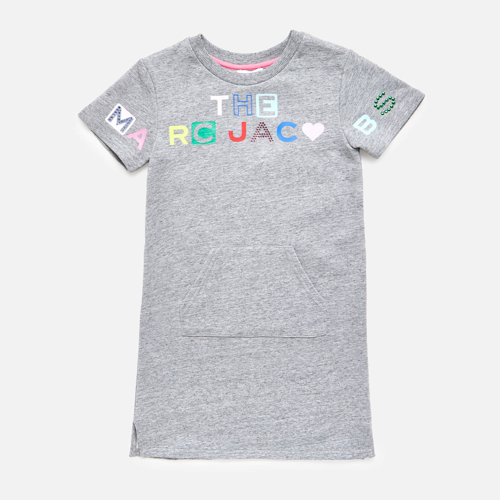 The Marc Jacobs Girls' Logo Dress - Chine Grey - 4 Years