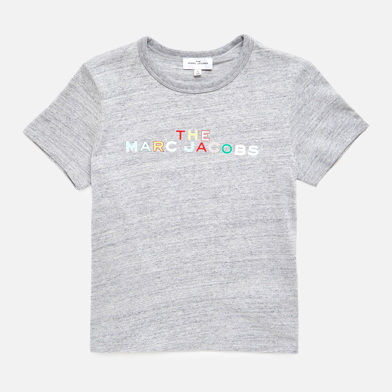The Marc Jacobs Girls' Short Sleeve T-Shirt - Chine Grey - 4 Years