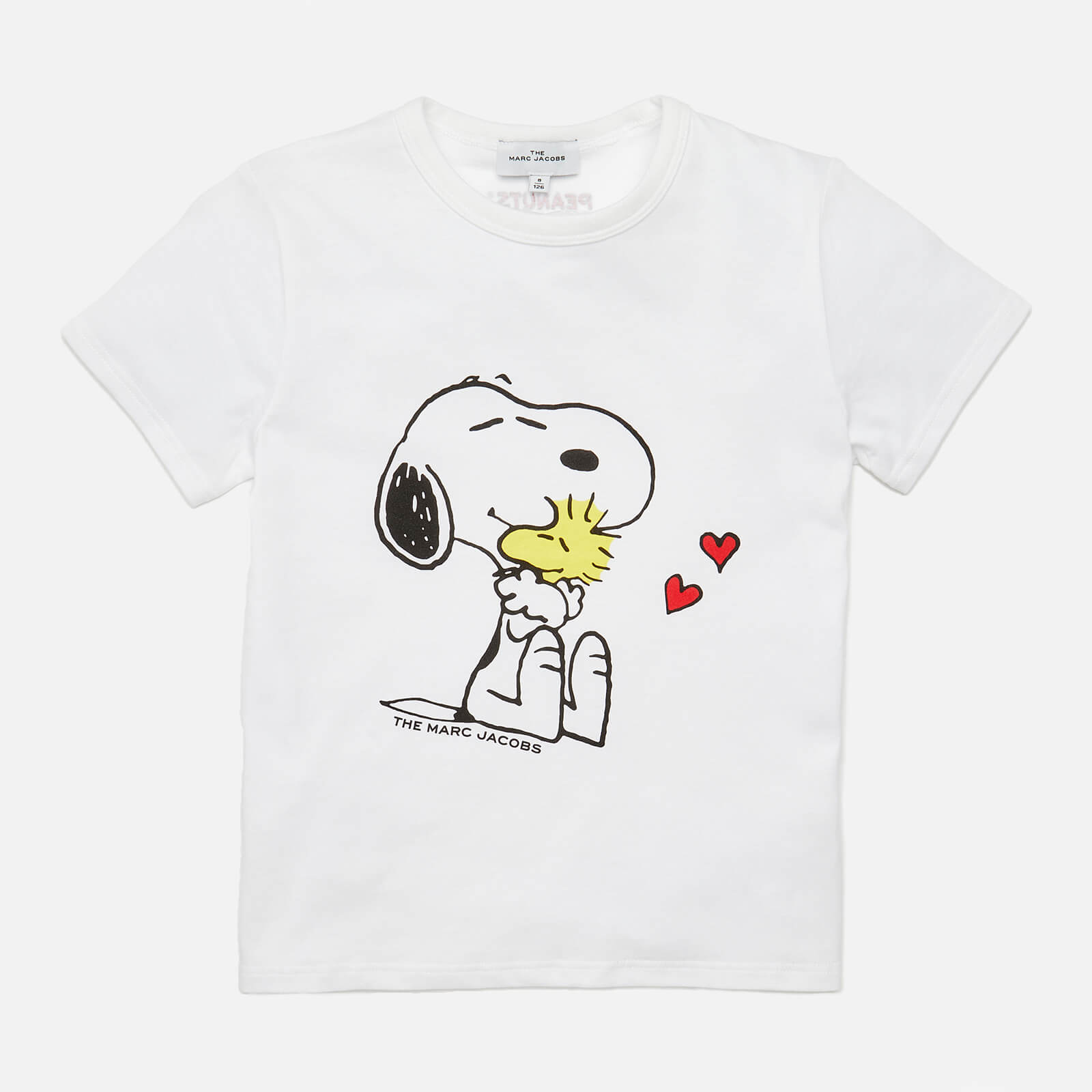 Little Marc Jacobs Girls' Snoopy Short Sleeved T-Shirt - White - 4 Years