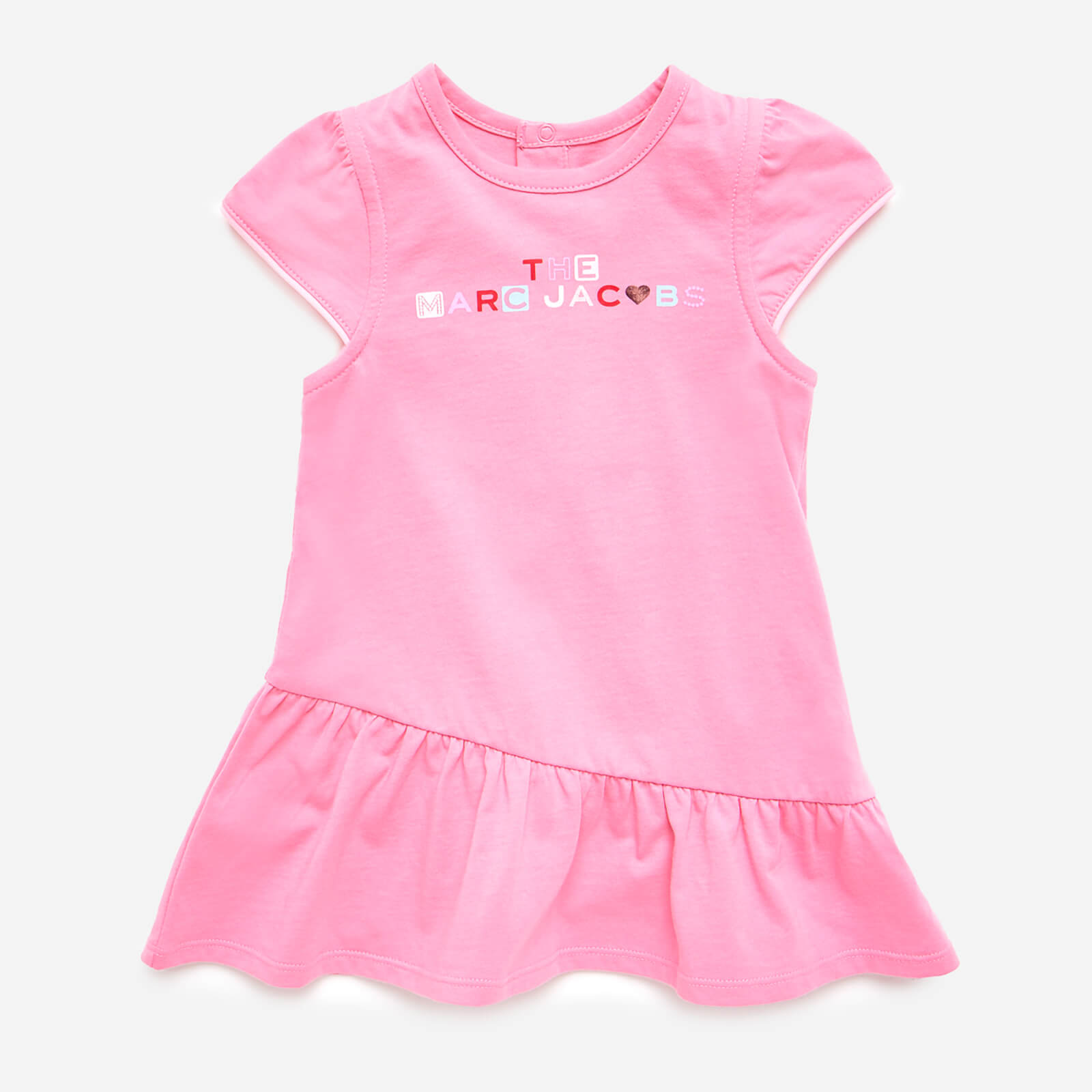 The Marc Jacobs Baby Girls' Frill Dress - Pink - 0-3 months