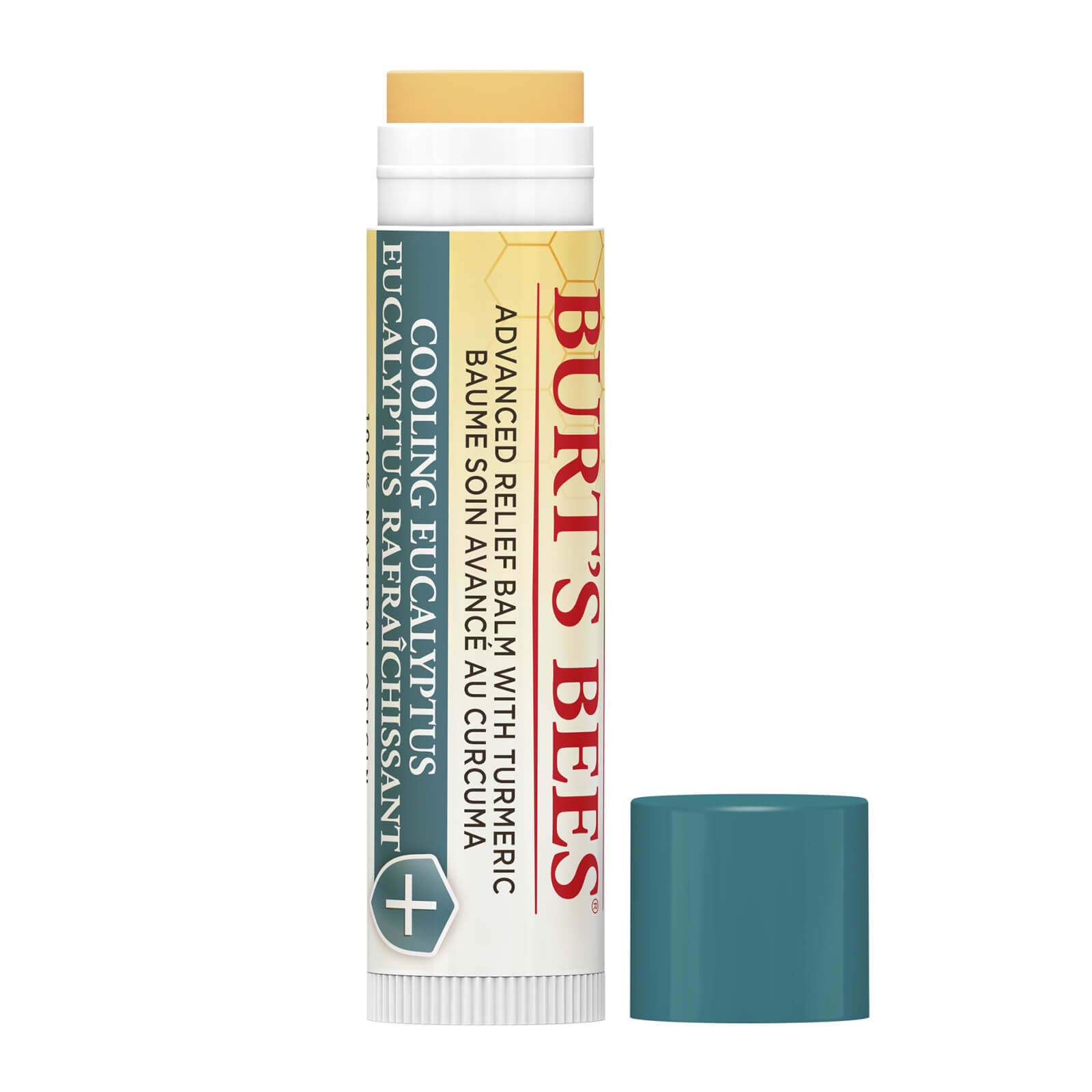 Купить Burt's Bees 100% Natural Origin Advanced Relief Lip Balm For Extremely Dry Lips, Cooling Eucalyptus