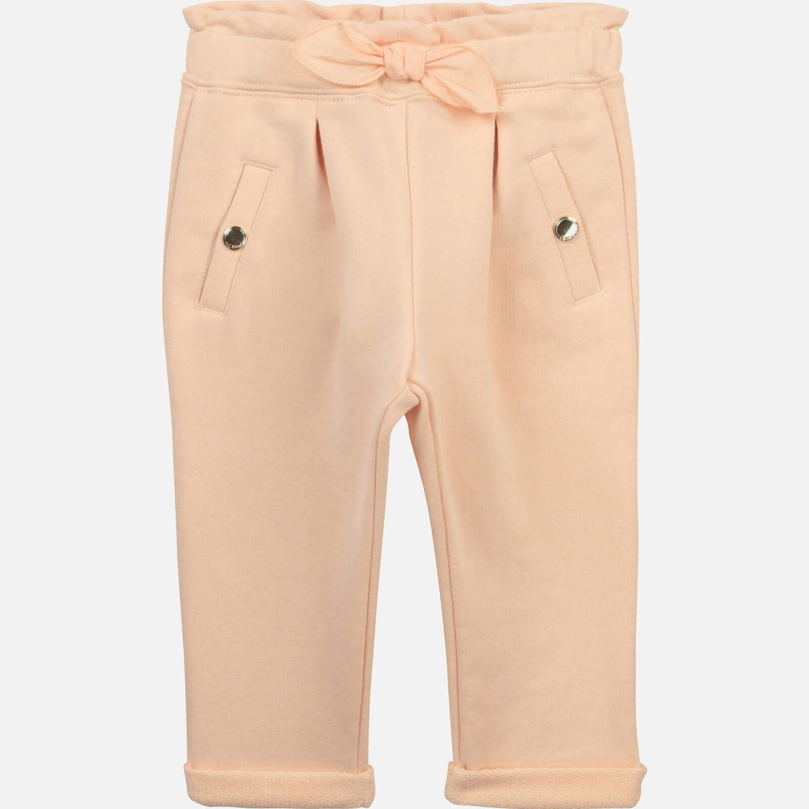 Chloe Girls' Toddlers Trousers - Pale Pink - 9-12 months