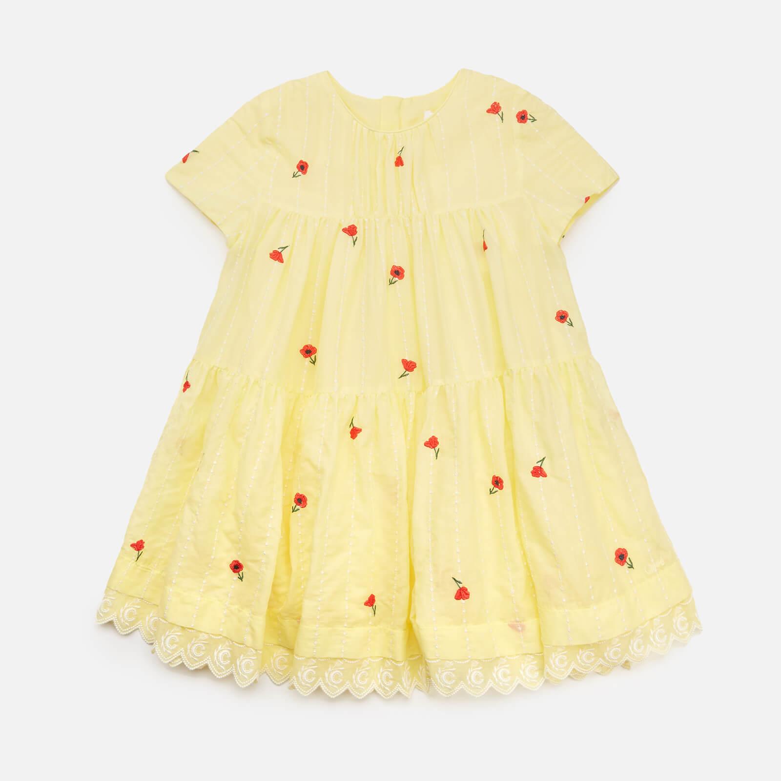 Chloe Girls' Flare Dress - Lime - 4 Years