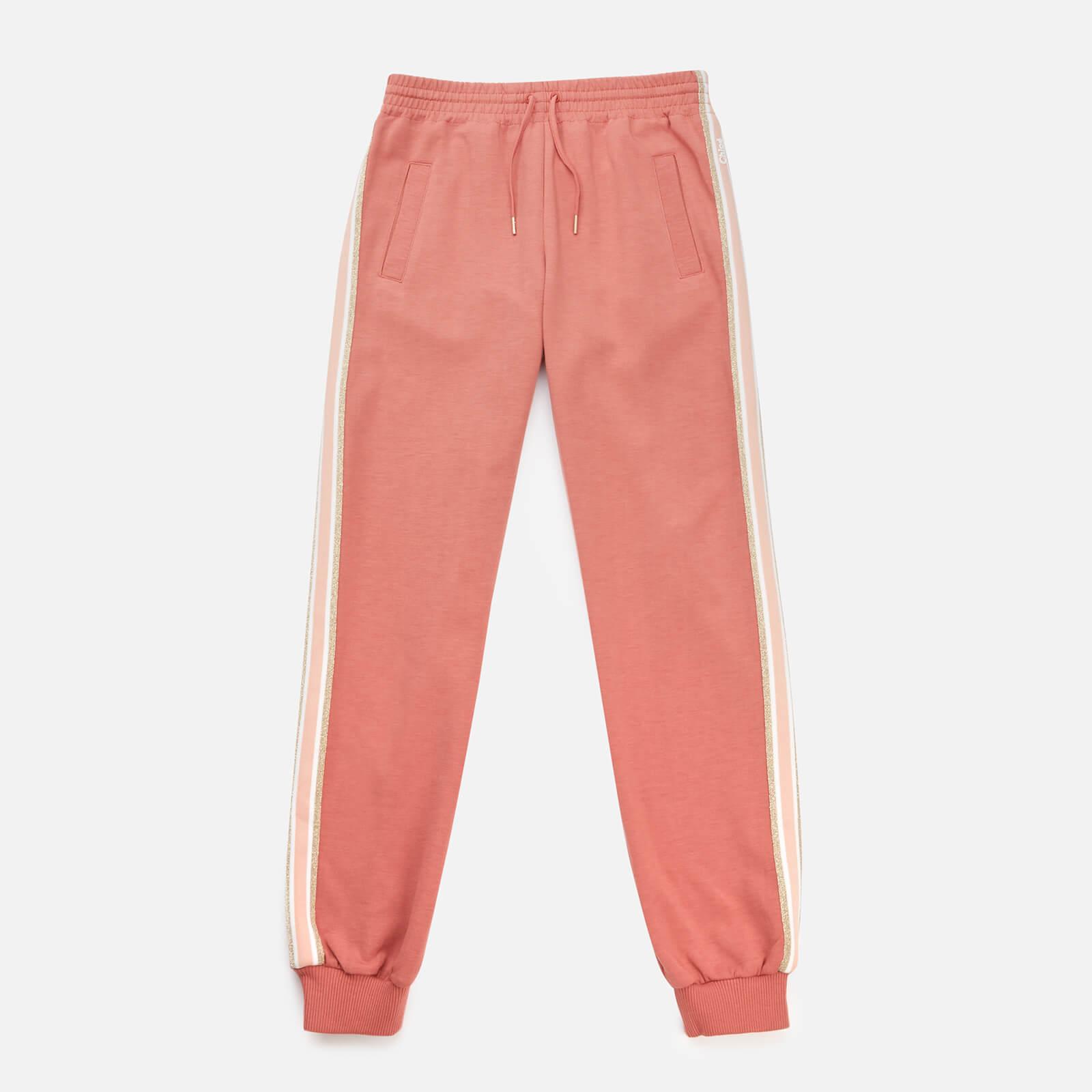 Chloe Girls' Sweatpant Trousers - Brick - 6 Years