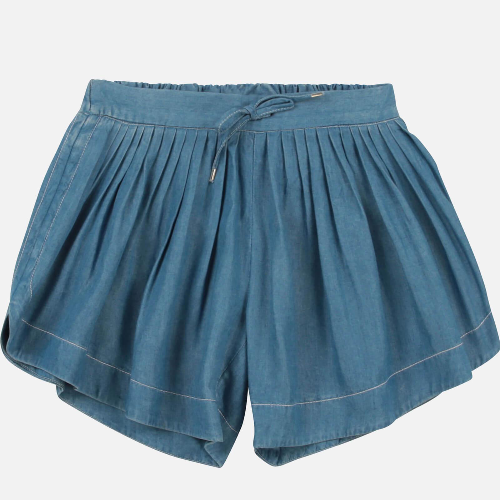 Chloe Girls' Shorts - Denim Blue - 4 Years
