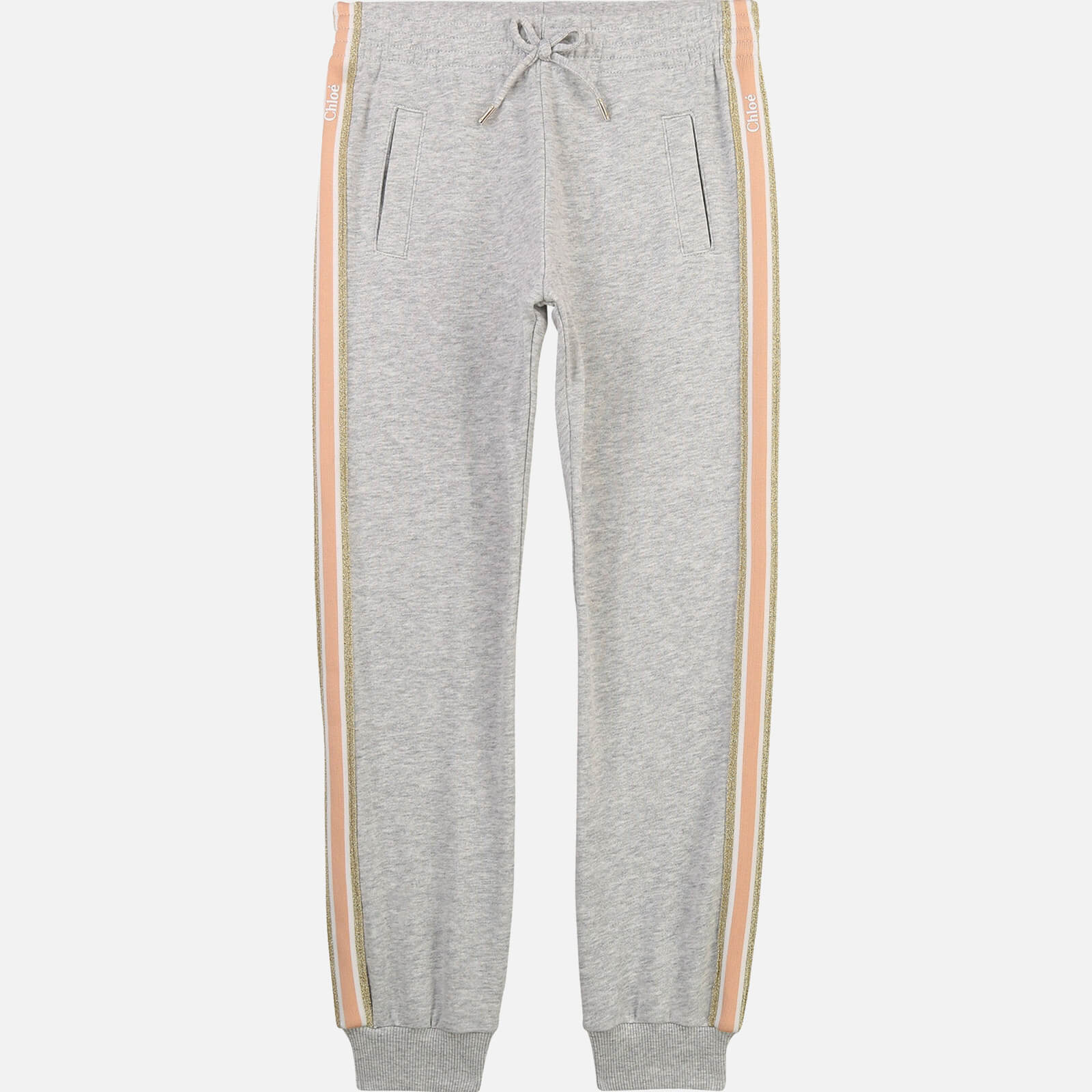 Chloé Girls' Sweatpant Trousers - Chine Grey - 10 Years
