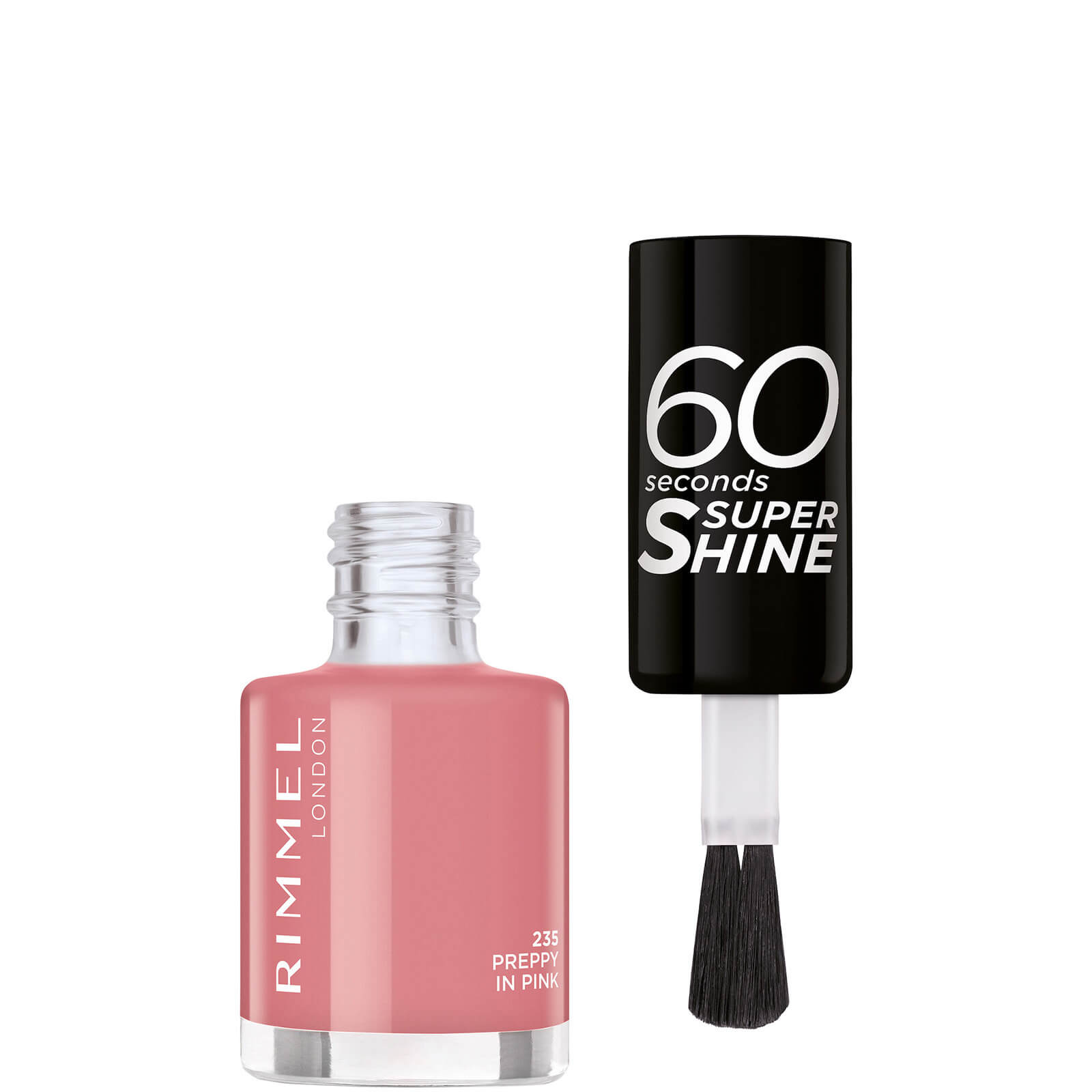 Rimmel 60 Seconds Nail Polish 8ml (Various Shades) - Preppy in Pink