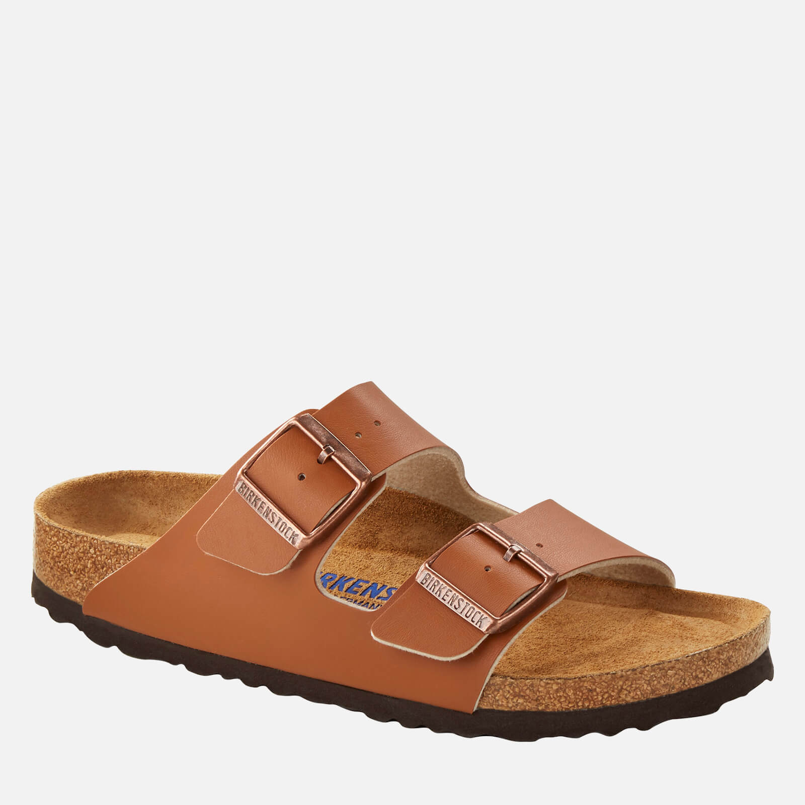 Birkenstock Mens Arizona Double Strap Sandals Ginger Brown Eu 40 Uk 7