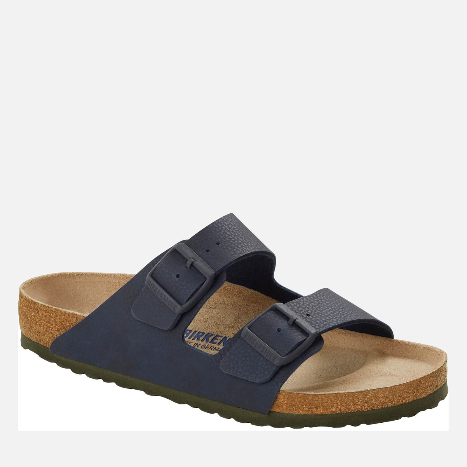 Birkenstock Mens Arizona Double Strap Sandals Desert Soil Blue Eu 40 Uk 7