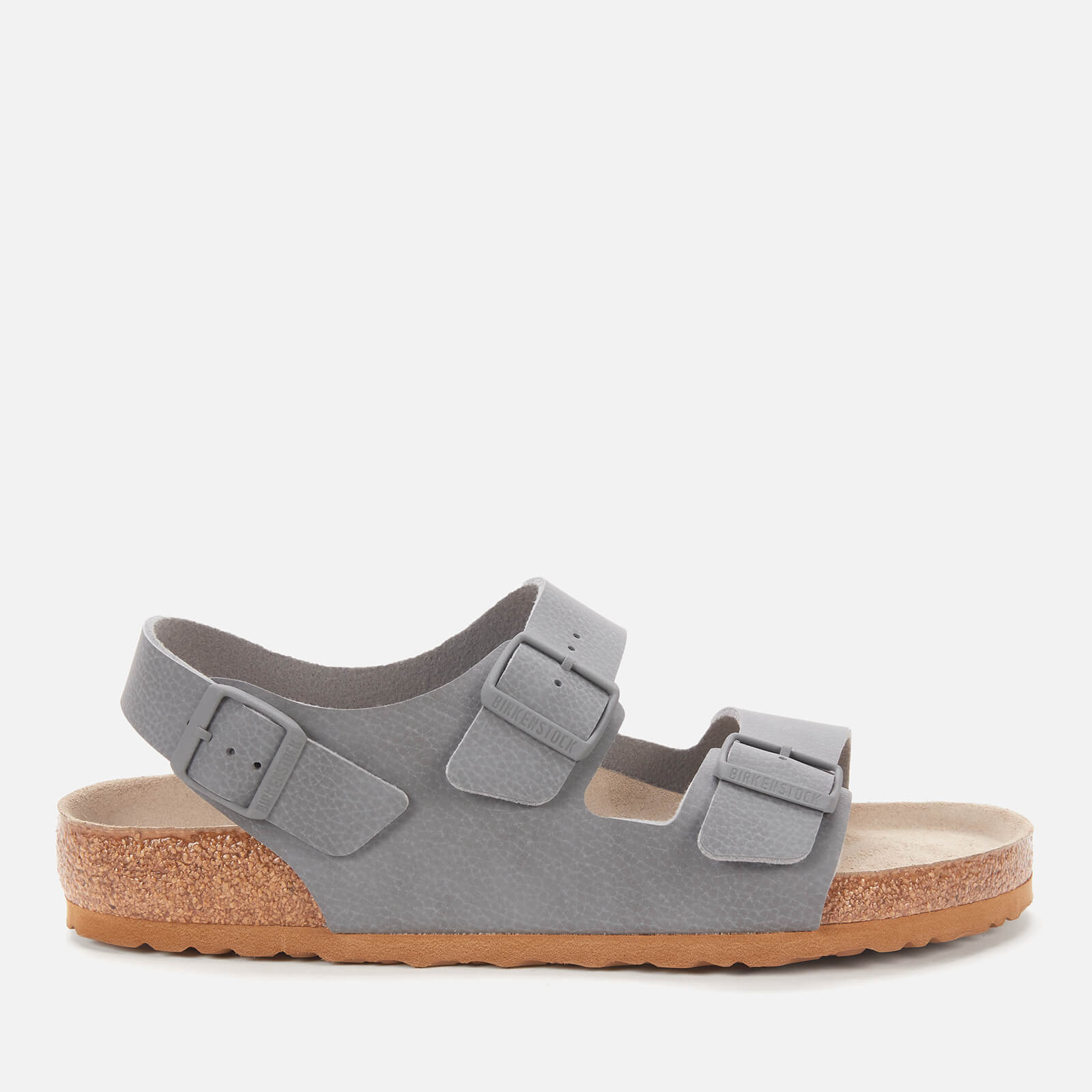 Click to view product details and reviews for Birkenstock Mens Milano Double Strap Sandals Desert Soil Grey Eu 40 Uk 7.