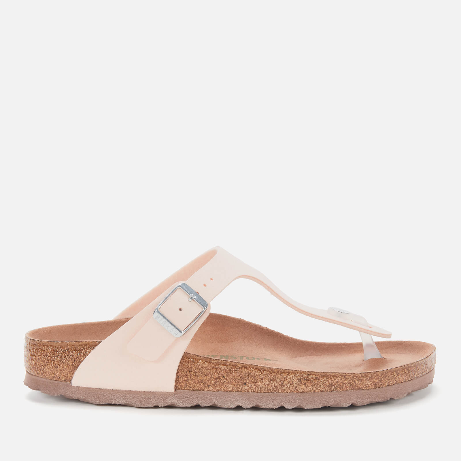 Click to view product details and reviews for Birkenstock Womens Vegan Gizeh Toe Post Sandals Light Rose Eu 36 Uk 35.