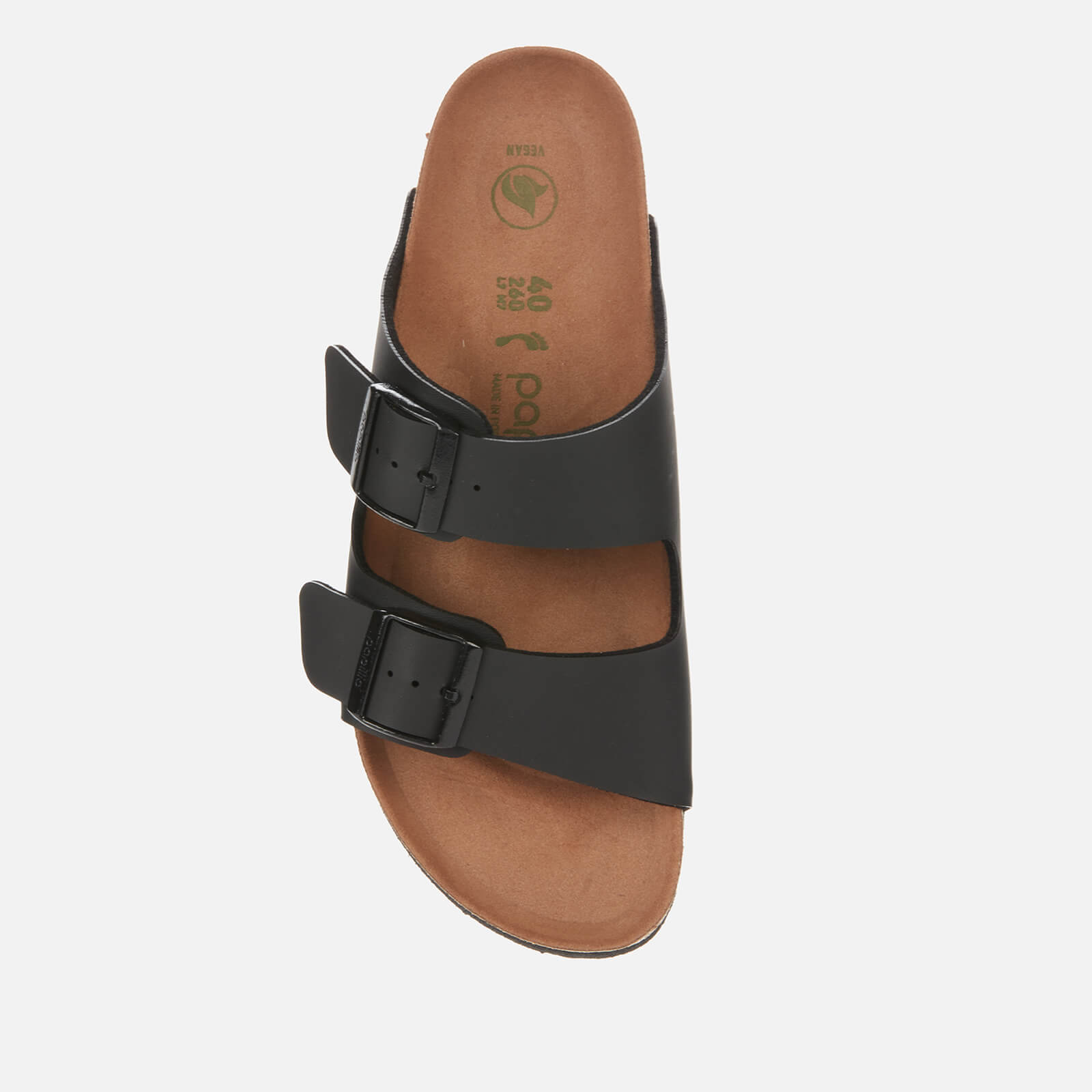 Birkenstock Women's Papillio Vegan Arizona Platform Double Strap Sandals - Black - Eu 39/Uk 5.5