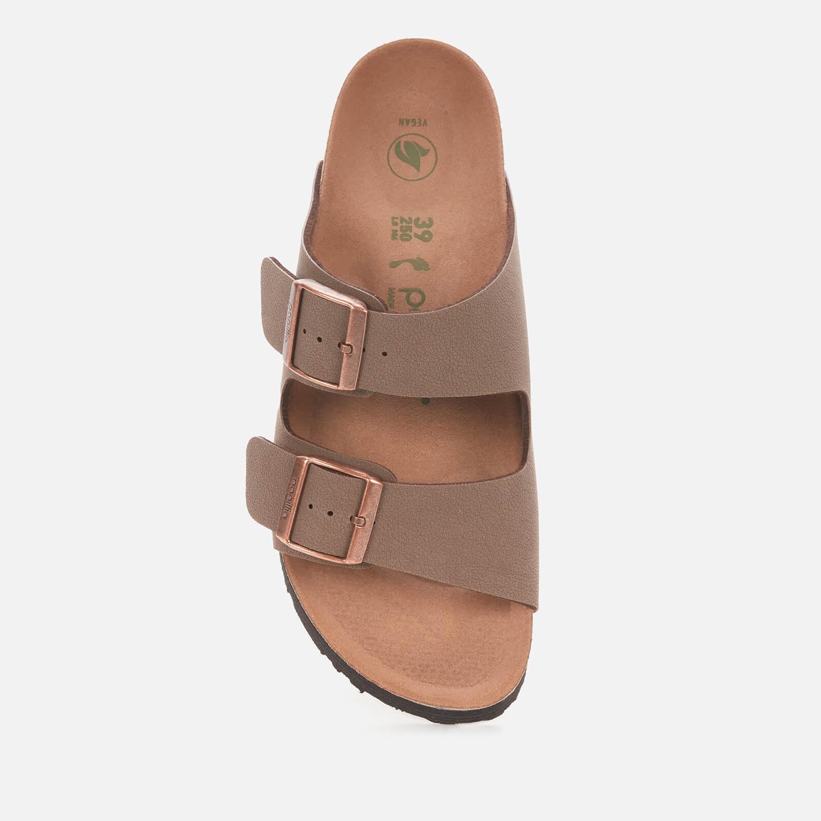 Birkenstock Women's Papillio Vegan Arizona Platform Double Strap Sandals - Mocca - Eu 41/Uk 7.5
