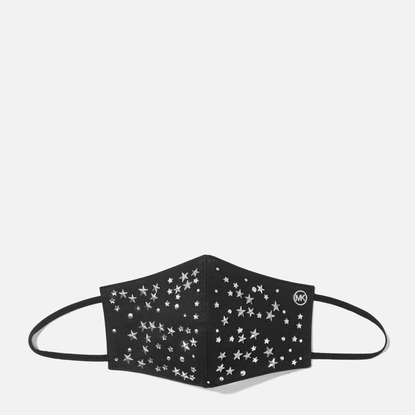 MICHAEL Michael Kors Women's Scatter Star Mask - Black/Silver