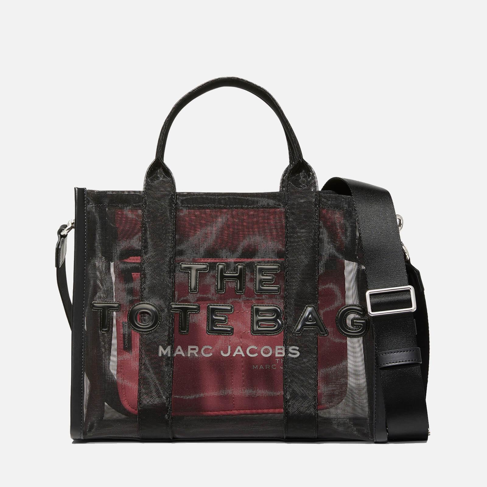 Marc Jacobs Women's Small Mesh Traveler Tote Bag - Black