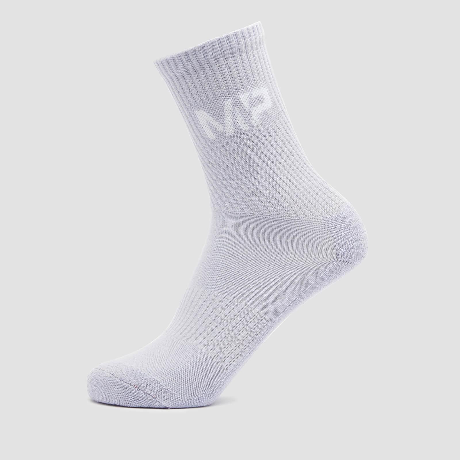 MP Women's Neon Brights Crew Socks (3 Pack) Butterfly/Banana/Lavender - UK 3-6, Myprotein International  - купить со скидкой