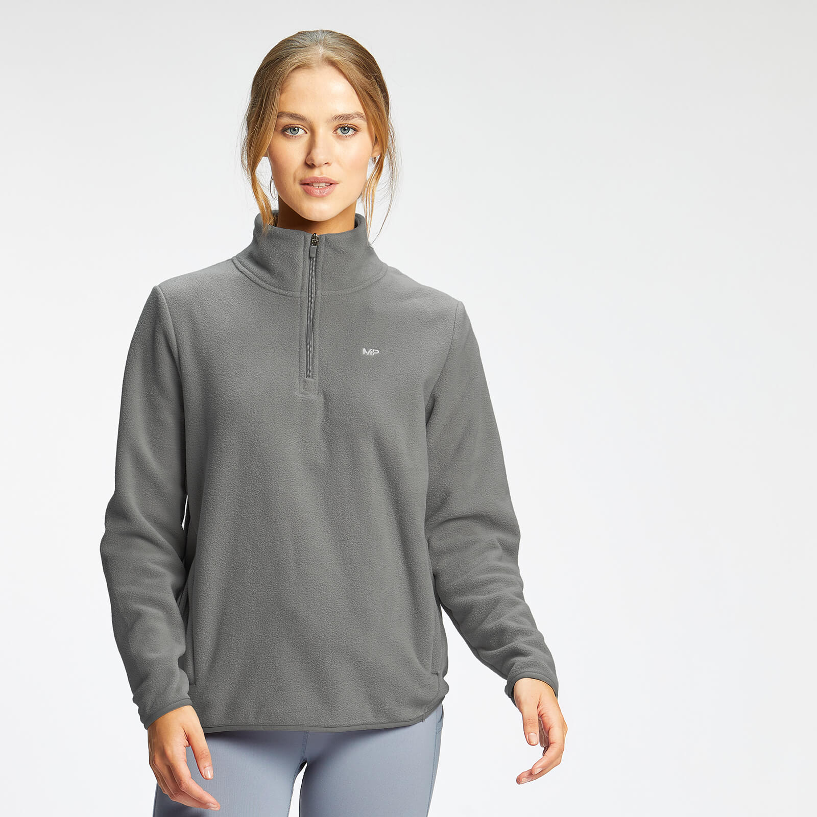 Купить MP Women's Essential 1/4 Zip Fleece - Storm - XXL, Myprotein International